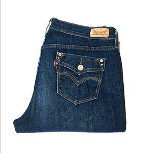 Levis Classic Demi Curve 437 Size 10 L/C